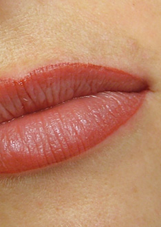 permanent make lippen nachher